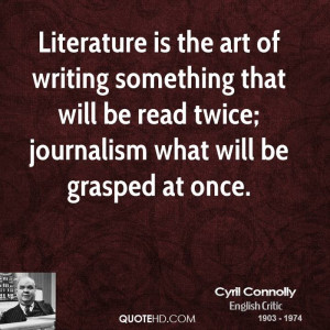 Cyril Connolly Quotes About Writing
