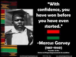 Marcus Garvey Timeline