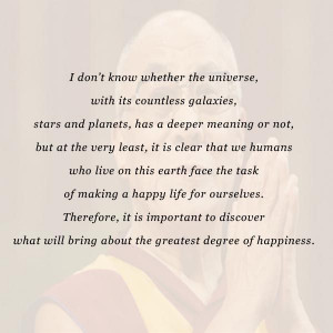 Receive daily quotes and inspiration from the Dalai Lama Himself ...