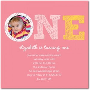 1st Birthday Party Invitations For Girls: 10 Lovely Ideas