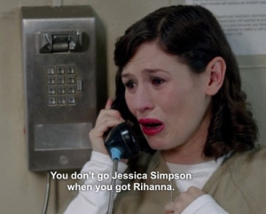 ... jessica simpson oitnb Orange is the new Black lorna morello yael stone