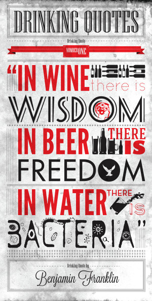 Alcohol Drinking Quote...