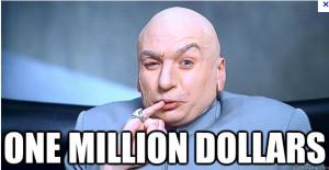 Dr. Evil One Million Dollars