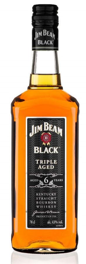 ampliarla jim beam black whiskey bourbon americano por jim beam s