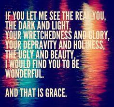 Grace. More