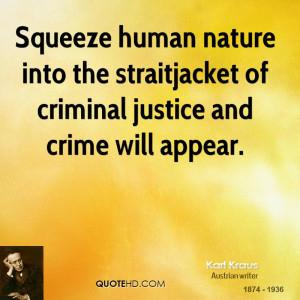 Karl Kraus Nature Quotes