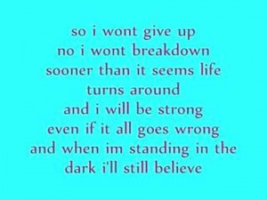 hilary duff someones watching over me with lyrics from hilarys album ...