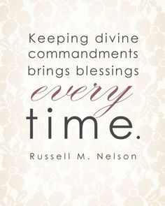 LDS General Conference Quote by Russell M. Nelson #ldsconf # ...