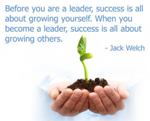 Great #quote from former +General Electric CEO Jack Welch.