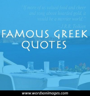 Famous greek quotes