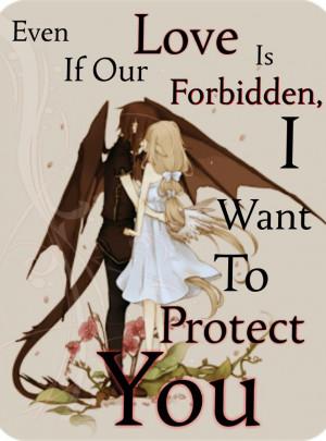 forbidden love quote