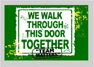 customized signs using school mottos or slogans to build school spirit ...