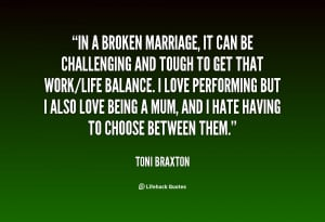 Broken Marriage Quotes About Sayings