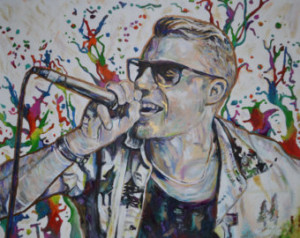 Macklemore Starting Over Quotes Macklemore print
