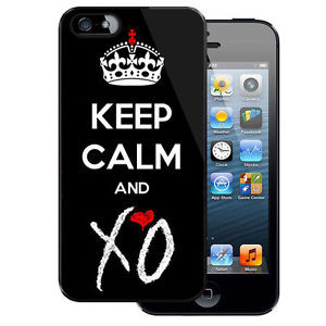 Cool-Quotes-Keep-Calm-And-Love-XO-The-Weeknd-Cover-New-Case-iPhone-and ...