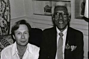 Bayard Rustin and Walter Naegle
