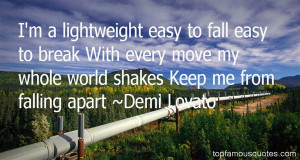 Quotes About Falling Apart Pictures