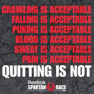 ... the race on saturday here are a few of my favorite spartan race quotes
