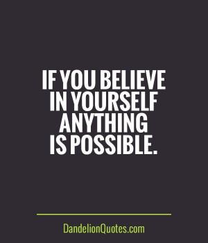 BELIEVE in ME!!!!