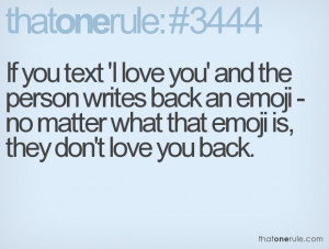 No Text Back Quotes