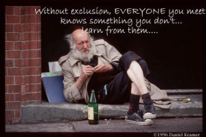 Without Exclusion Everyone You