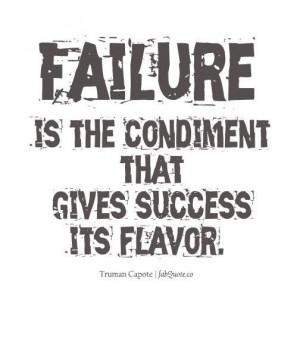 Truman capote failure quote