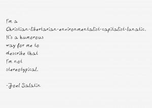Joel Salatin Quotes & Sayings