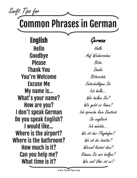 common english to german phrases native english speakers can practice ...