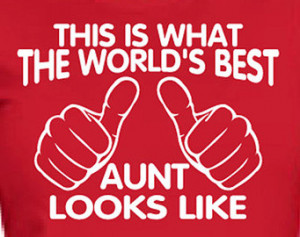 Popular items for worlds best aunt on Etsy