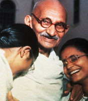 soon after his return from england gandhiji was arrested without