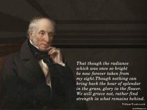 William Wordsworth Nature Quotes