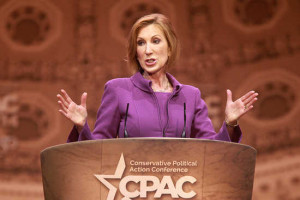 Carly Fiorina hopes pathetic attacks on Hillary Clinton will boost her ...
