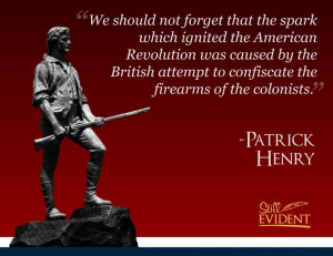should not forget that the spark which ignited the American Revolution ...
