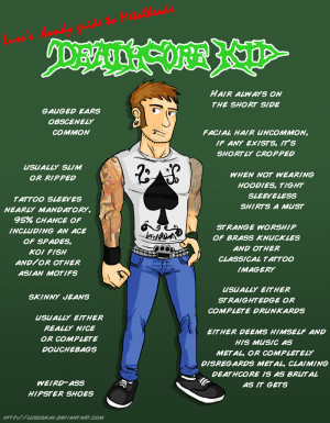 Luso's Handy Guide to Metalheads by ~LusoSkav