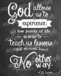 god quotes about life lessons