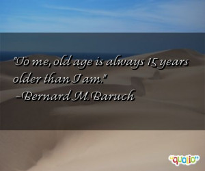 Inspirational Quotes About Old Age