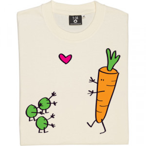 Peas And Carrots Natural Men's T-Shirt. A marriage made in culinary ...