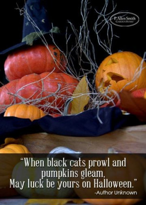 Halloween quotes, best, sayings, luck