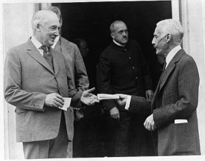 President Warren G. Harding and Andrew W. Mellon (via) On This Day in ...