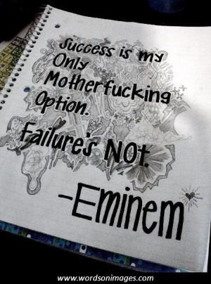 Famous eminem quotes