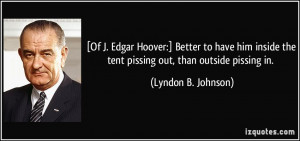 Edgar Hoover's quote #2