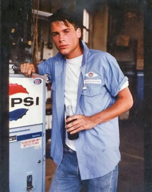 Rob Lowe as Sodapop Curtis in The Outsiders
