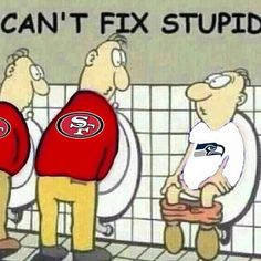 49ers Funny Cartoons | 49ers_cartoon_takes_jab_at_seahawks_fans More