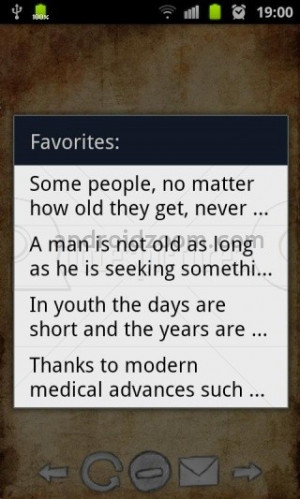 Age Quote for Fb Share – Some People No Matter how Old they Get
