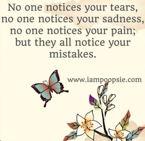 no one notices your pain quotes relationship