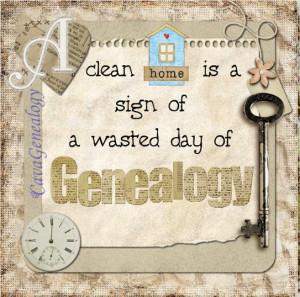 Love of Genealogy quote