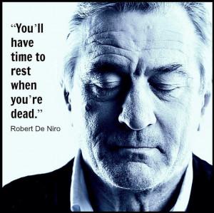 Robert De Niro - Movie Actor Quote - Film Actor Quote - #robertdeniro