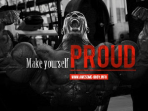 Make yourself proud   Facebook cover quotes