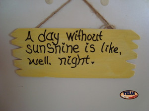 Funny Quotes Sunshine
