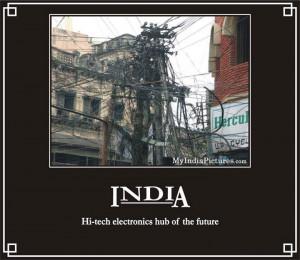 Hi-Tech Electronics Hub India Funny